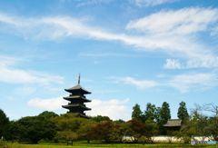 初秋の備中国分寺