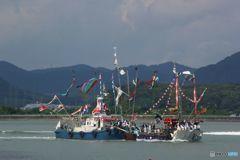 秋祭り  渡御船(2)
