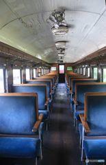 廃線 客車 ホハフ3002 車内