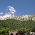 蔵出し : 夏  大山南壁