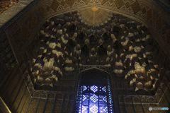 グリ アミール廟 ドーム内の装飾