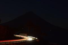 薩摩富士の岸部