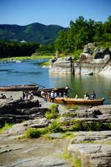 長瀞 岩畳からの景観 ②