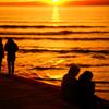 冬のオレンジワールド~タテの光とヨコの影~