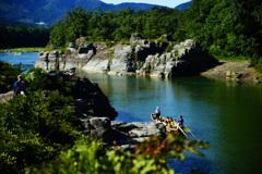 長瀞 岩畳からの景観 ⑧