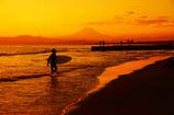 サンセットビーチの風景