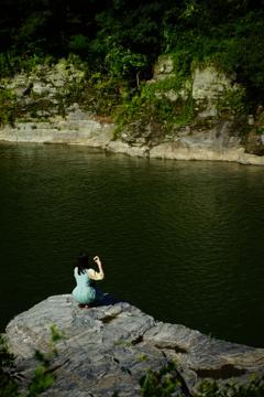 長瀞 岩畳からの景観 ⑩