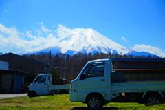 忍野村を訪ねて...富士山