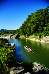長瀞 岩畳からの景観 ⑥