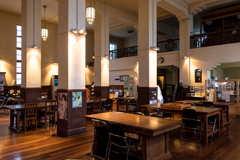 旧図書館(旧豊郷小学校より)