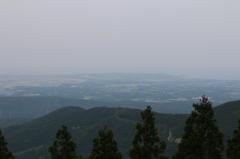 日本海が見えるはずなのに・・・。