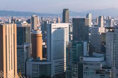 丸ビル(大阪の展望台めぐりより)