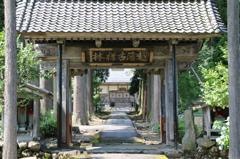 小倉谷の古刹「慈眼寺」