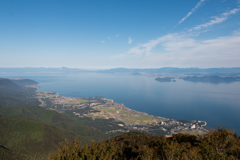 びわ湖テラスからの眺め(琵琶湖バレイより)