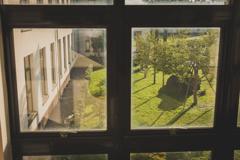 校舎の窓から(旧豊郷小学校より)