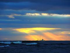 朝の日向灘