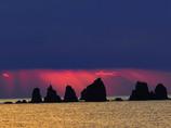朝の七つ岩