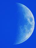 月がとっても青いから♪
