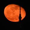月が地球に近づく時