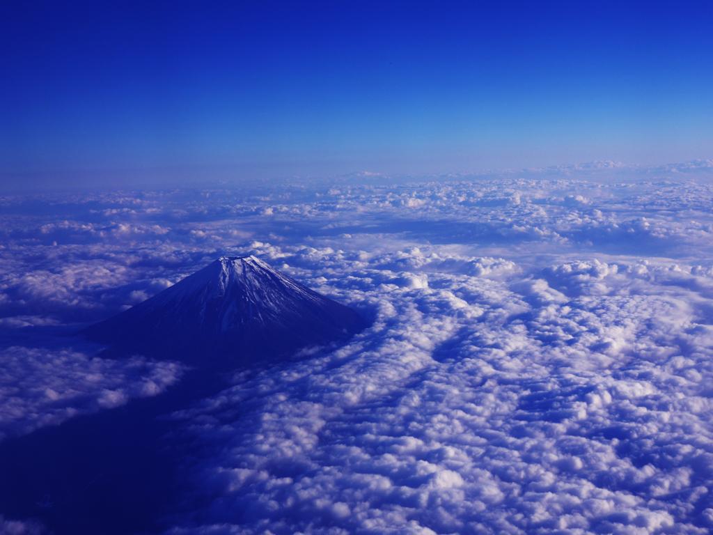 蒼空の富士