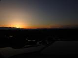 日の出待つ棚田