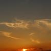 冷水岳にて 夕日2