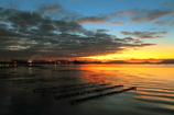 日の出前の輝き