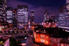 東京の夜は眩しかった