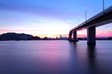 夜明けの大橋