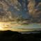 海を見渡せる展望園からの日の出