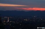 日没後の京都市内