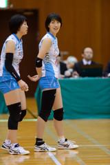KUROBEアクアフェアリーズ 宮城奈菜子選手・南美寿希選手