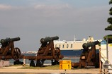 馬関戦争の砲台