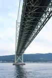 明石海峡大橋(フェリーから)
