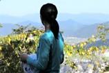 登山日和 (休憩ポイント・汗を拭く)
