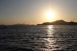 落日の海峡。