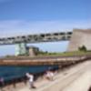 明石海峡大橋 水平方向パン