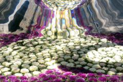 お花の滝・・♪