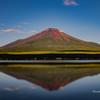 夏の逆さ富士