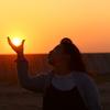 カメラ女子2太陽に口づけ