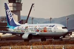 仙台空港にフラワージェット