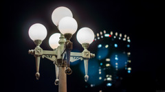 中之島の街灯 NEX編