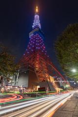 ニューヨーク市&東京都観光パートナーシップ記念ダイヤモンドヴェール