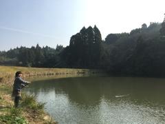 地元で釣り
