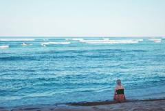 再会の浜辺