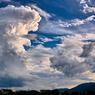 沸き立つ雲。