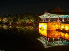 韓国 慶州 夜景-1