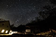 スロバキアの夜空