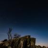 満月の星空