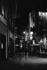 アントワープ 夜の街